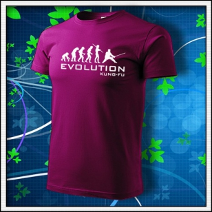 Evolution Kung-Fu - fuchsia red