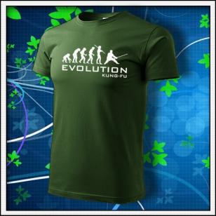 Evolution Kung-Fu - fľaškovozelené
