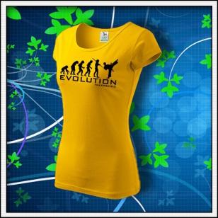 Evolution Taekwondo - dámske žlté