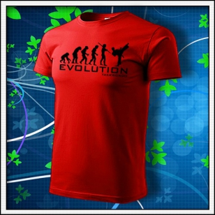 Evolution Taekwondo - červené