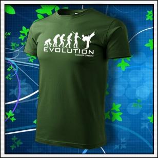 Evolution Taekwondo - fľaškovozelené