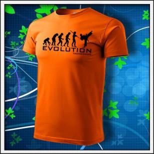 Evolution Taekwondo - oranžové