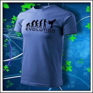Evolution Taekwondo - svetlomodré