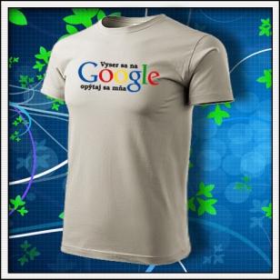 Vyser sa na Google - ľadovosivé