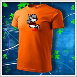 Freddy Krueger - oranžové