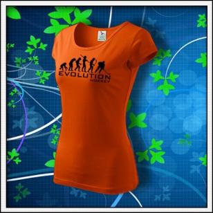 Evolution Hockey - dámske oranžové