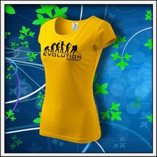Evolution Hockey - dámske žlté