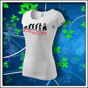 Evolution Gangnam Style - dámske biele