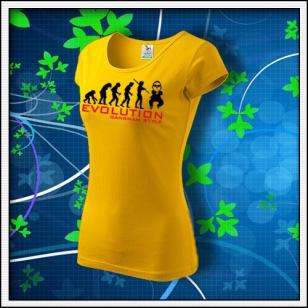 Evolution Gangnam Style - dámske žlté