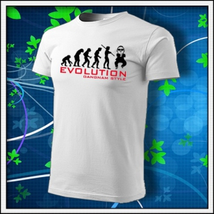 Evolution Gangnam Style - biele