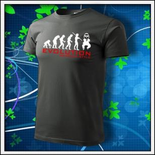 Evolution Gangnam Style - tmavá bridlica
