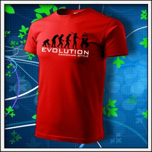 Evolution Gangnam Style - červené