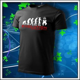 Evolution Gangnam Style - čierne