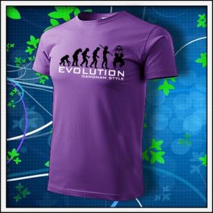 Evolution Gangnam Style - fialové