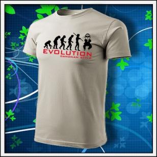 Evolution Gangnam Style - ľadovosivé