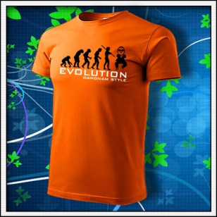 Evolution Gangnam Style - oranžové