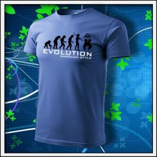 Evolution Gangnam Style - svetlomodré