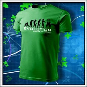 Evolution Gangnam Style - trávovozelené