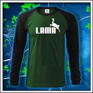 Lama - fľaškovozelené DR pánske