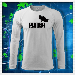 Pumba - biele DR pánske