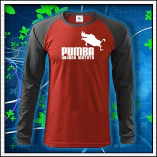 Pumba - červené DR pánske