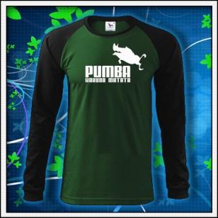 Pumba - fľaškovozelené DR pánske