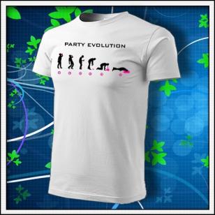 Evolution Party s neónom - biele