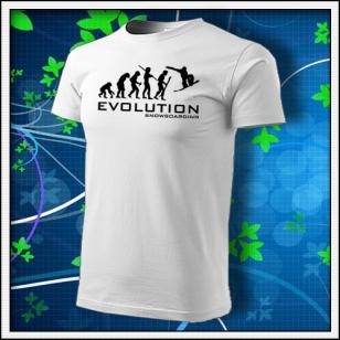 Evolution Snowboarding - biele