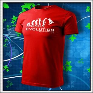 Evolution Snowboarding - červené