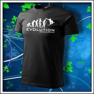 Evolution Snowboarding - čierne