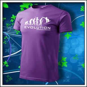 Evolution Snowboarding - fialové