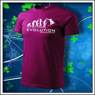 Evolution Snowboarding - fuchsia red