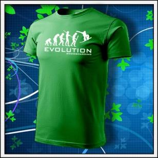 Evolution Snowboarding - trávovozelené