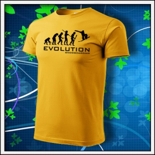 Evolution Snowboarding - žlté