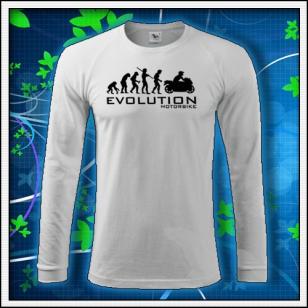 Evolution Motorbike - biele DR pánske