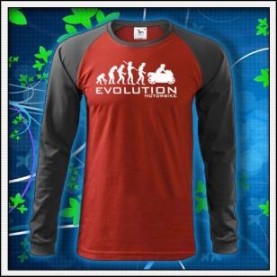 Evolution Motorbike - červené DR pánske