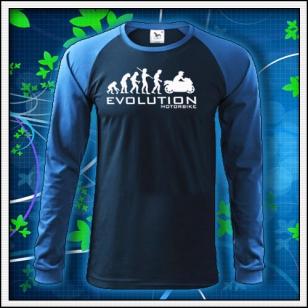 Evolution Motorbike - tmavomodré DR pánske