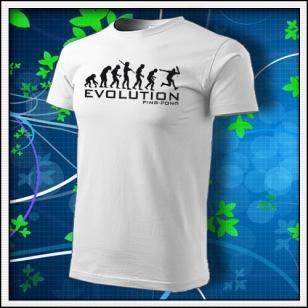 Evolution Ping-pong - biele