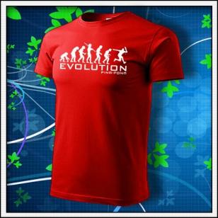 Evolution Ping-pong - červené