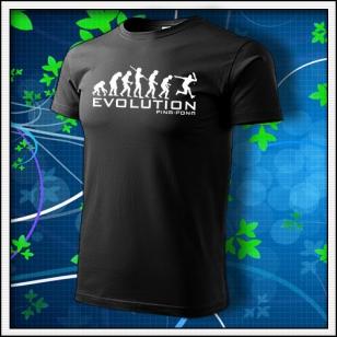 Evolution Ping-pong - čierne