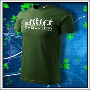 Evolution Ping-pong - fľaškovozelené