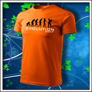 Evolution Golf - oranžové