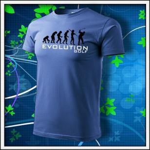 Evolution Golf - svetlomodré