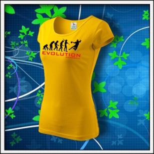 Evolution Handball - dámske žlté