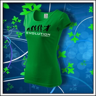 Evolution Handball - dámske trávovozelené