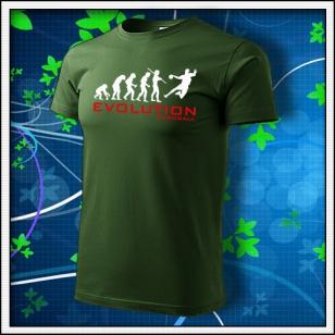Evolution Handball - fľaškovozelené