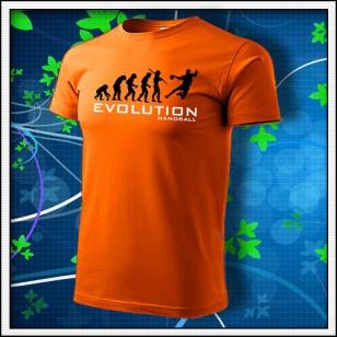 Evolution Handball - oranžové