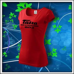 Tatra 603 - dámske červené