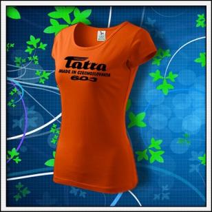 Tatra 603 - dámske oranžové