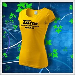 Tatra 603 - dámske žlté